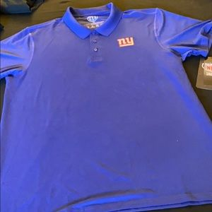 Men's large NY giants polo